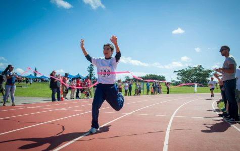 <![CDATA[Kohei Setake, a Kadena Special Olympics athlete, wins first place in a 200 meter dash during the Kadena Special Olympics Nov. 7, 2015, at Kadena Air Base, Japan. Established by the 18th Wing commander in 2000, KSO is a sporting and entertainment event that provides an opportunity for all communities involved to stand together in support of people with special needs. (U.S. Air Force photo by Airman 1st Class Lynette M. Rolen)]]>