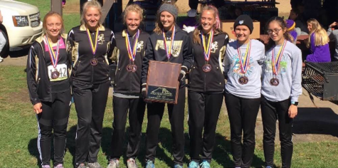 Girls Cross Country Qualify for Sectionals, AGAIN