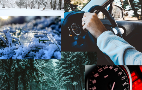 Be extra cautious when driving in unpredictable wintry weather.