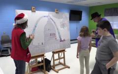 Missouri Bicentennial Mural Artists Visit Elementary Schools
