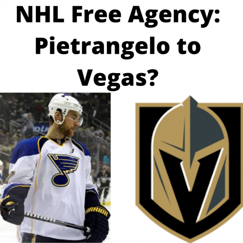 St. Louis Blues:  Pietrangelo Up For Free Agency