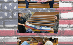 FHS Students Participate In Local Flag Folding Event