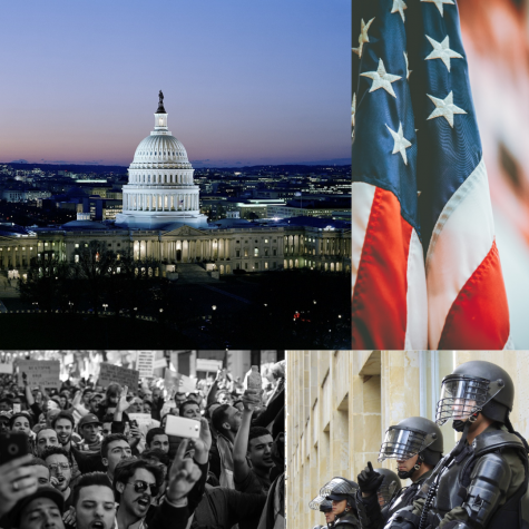 U.S. Capitol Building Under Siege