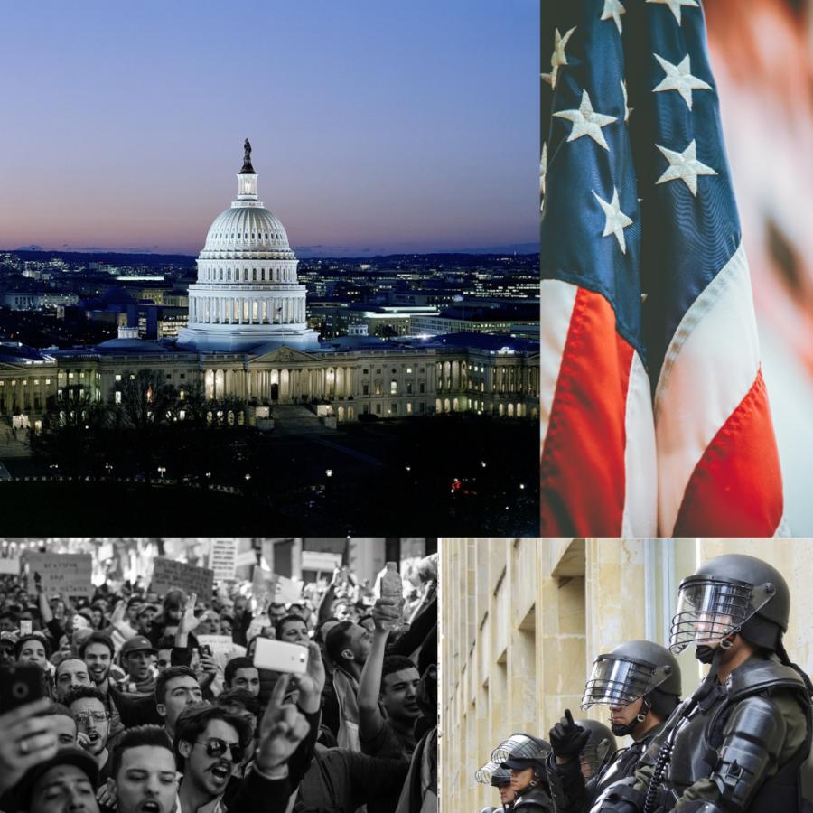 U.S. Capitol Building Under Siege