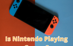 Is Nintendo Playing Games (pictured is Nintendo's newest console, the Nintendo Switch)