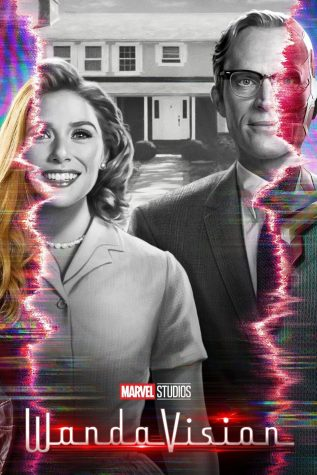 Wanda Maximoff (Elizabeth Olsen) & The Vision (Paul Bettany) in Marvel